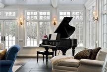 Piano Rooms / by Mary DiPiazza