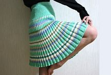 knit skirts/dresses