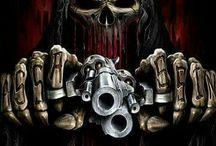 скелет-гангстер