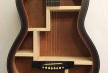 guitar shelfs