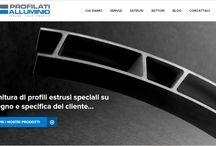 Portfolio - Profilati Alluminio / Our work for Profilati Alluminio http://www.profall.com/