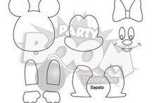 Disney feltro