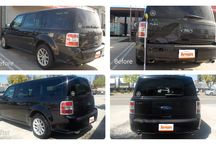 AutoPark Collision Repair Work / Before and after images of auto collision repair services.