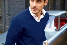 The Jumpers / Cosy knitwear woven from luxuriously soft fabrics. Layer them under suits to look smart and professional, or wear casually for the weekend.