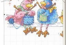 kury cross stitch