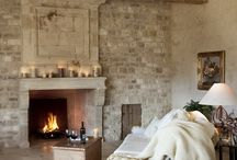 Cosy Fireplace Settings