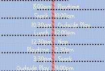 Baby/Kids Schedules