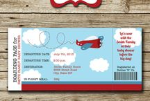 "Baby Shower / Travel-themed baby shower. ""Look out world, here he comes!"" / by Lisa Hahn"