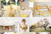 Yellow wedding ideas / by Jessica Wallace