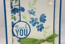 Painted Petals Stampin' Up! / Stampin' Up