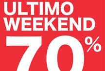 "SALDIIIII / ULTIMO WEEKEND DI SALDI"""