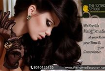 We Provide #Hairffirmation At Your Home
