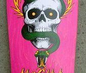 Deck skateboard oldschool