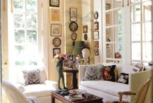 living spaces  / where we spend time, entertain and relax