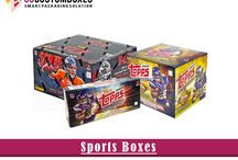 Sports Boxes / Custom Sports Boxes available in all styles, sizes and colors.