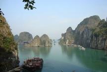 Bahía de Halong / La Bahía de Halong, la bahía de los descendientes del dragón y el lugar más mágico de Vietnam.