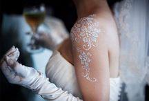 csillám tetoválás