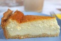 Τσιζ κέικ στο φούρνο