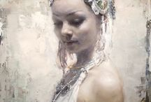 Jeremy Mann paintings