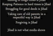 My Peace in Islam / Quote
