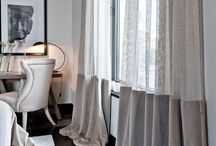 curtains / window coverings