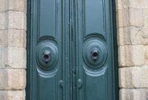 ConPuertas / Las puertas son una pasión mía estética y conceptual que quiero compartir en este tablero.