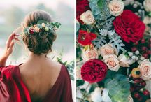Red Inspiration - Wedding / Red board