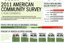 Lisa Mueller: A collection of infographics in the St. Cloud Times. / Lisa Mueller designs graphics for the St. Cloud Times.  / by St. Cloud Times newspaper/online