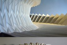Folded paper