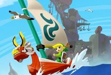 TLoZ The Wind Waker / A large collection of official artwork from The Legend of #Zelda #TheWindWaker on #Gamecube. More info @ http://www.zelda-temple.net/the-legend-of-zelda-the-wind-waker