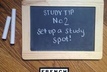Study Tips! / by French Toast
