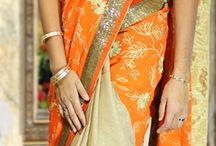Embroidery Designs sarees / Exclusive Sarees..........