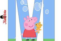 cumple Peppa pig