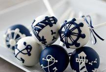 Nautical Wedding Inspration / nautical wedding dress, nautical wedding gowns, nautical wedding ideas / by Rosa Loren
