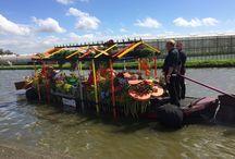 1. Events / Varend Corso 2017. Met een beweegbare Batist kas 3 dagen varen in het Westland, Midden-Delfland en Rijnmond.