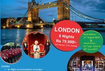 London Tour holiday packages from Delhi