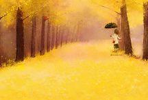 Christian Asuh / O mica iubire, care ma inspira! Culori dulci si povesti trist-aromate sau vesel-parfumate :)