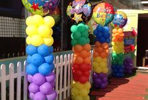 Colors Themes / Let a splash of color brighten up your party!