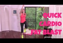 150-Calorie Cardio Fat Blast - Full Length 11-Minute High Intensity Inte...