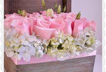 cofanetto fiori