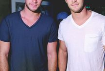 Hemsworth brothers.