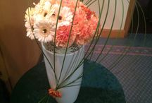 Modern arrangement / Contemporary modern flower arrangement