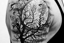 clouds tattoo