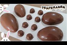 Ovos de páscoa chocolate