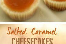 Cheesecake, salted caramel