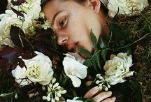 Brooke in the Flowers