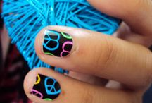 Nail art to remember Jessie