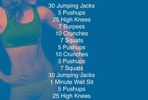 workout/healthy / by Stephanie Rogers