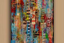 Collage artistique