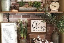 april showers, may flowers / All things spring, modern farmhouse, minimal, and decor inspiration!